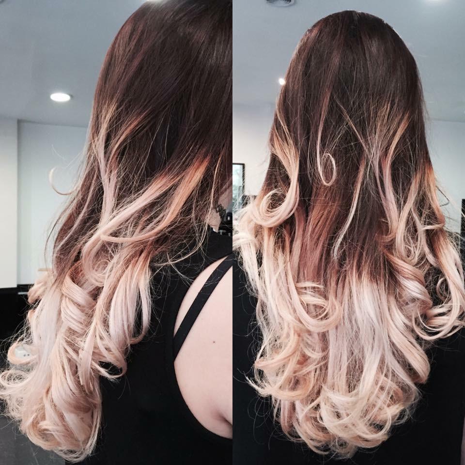 Préférence Tie And Dye Blond Rose - Fashion Designs YH41