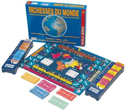 jeux de société du monde