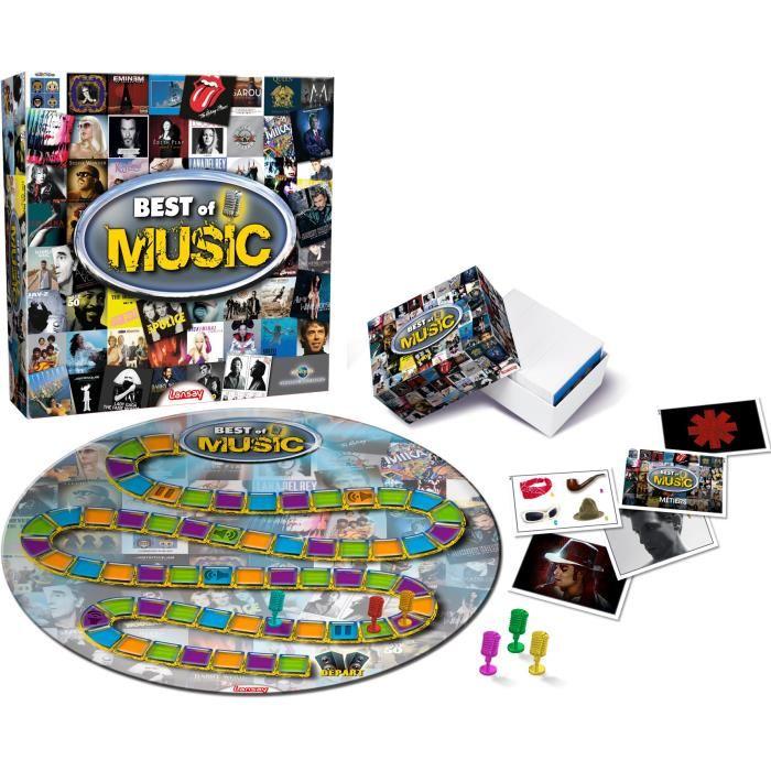 jeux de société musique