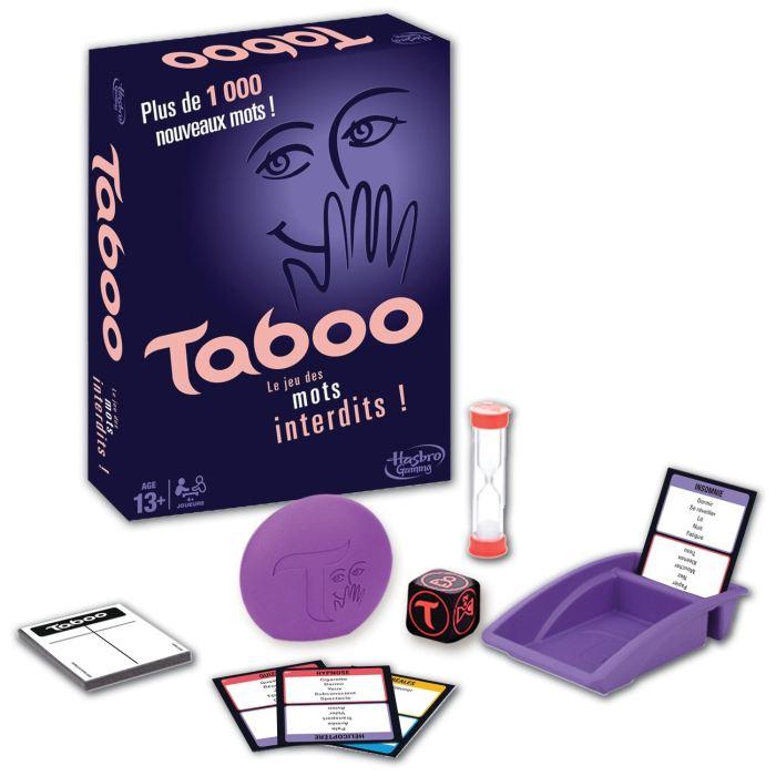 jeux de société taboo